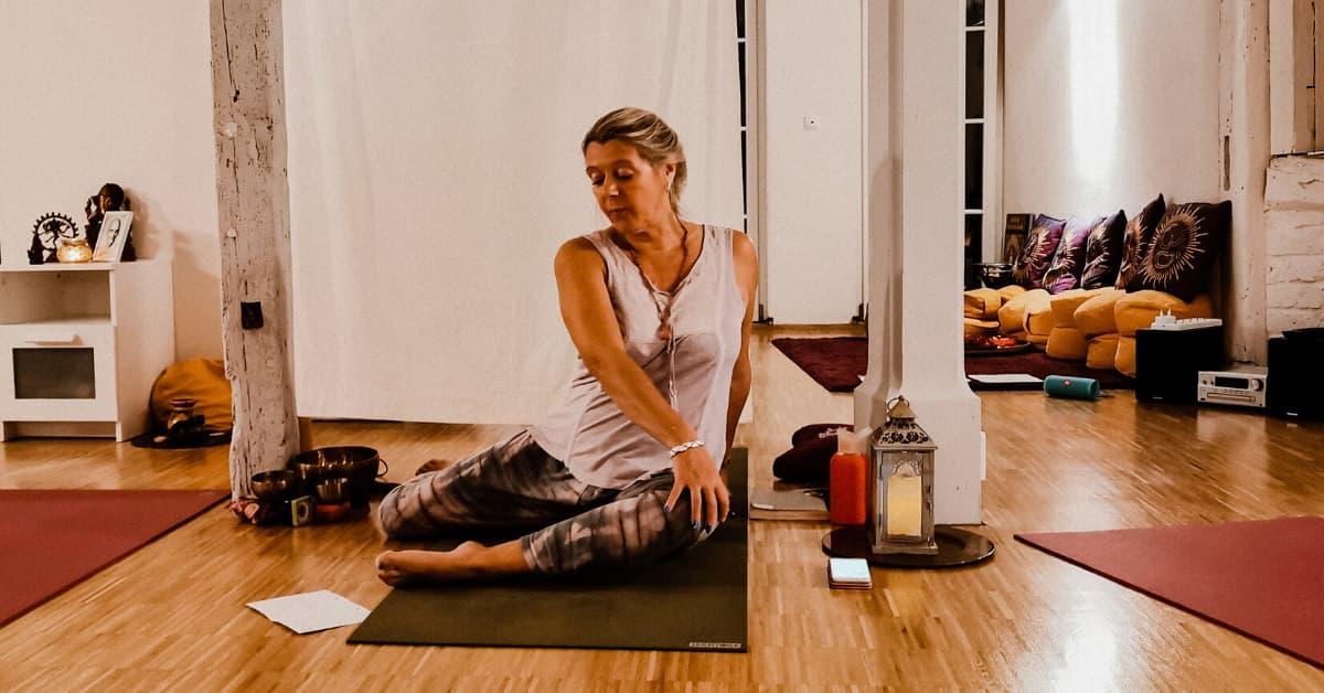 Andrea Yoga Lehrerin Event