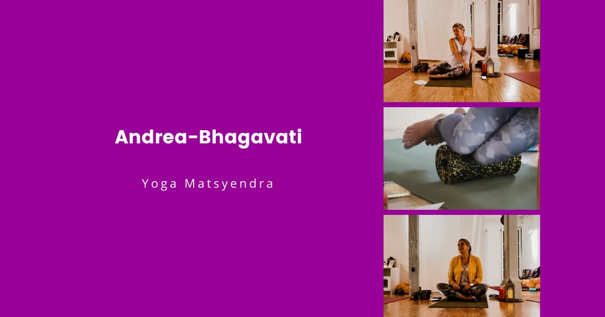 Andrea Yoga Matsyendra Beitrag