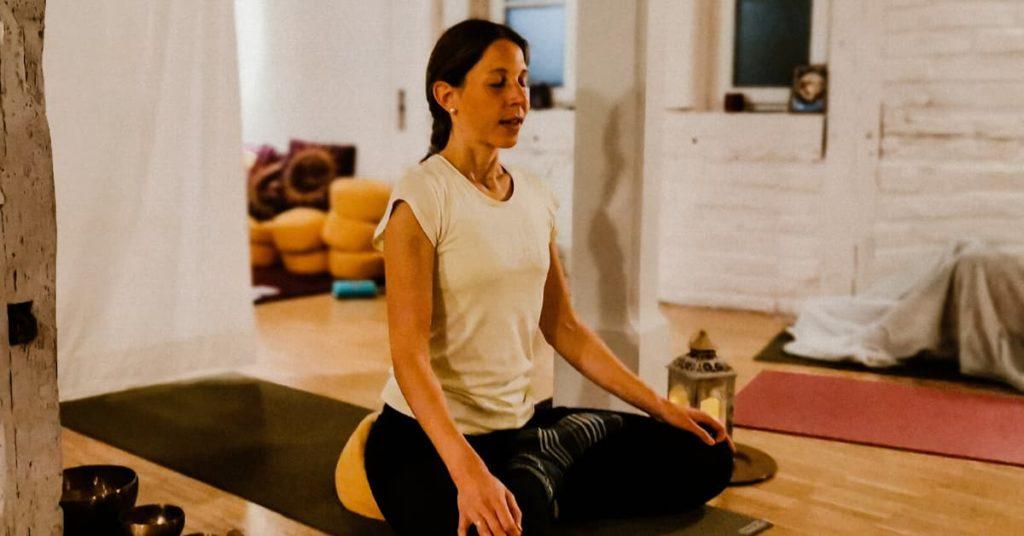 Katrin Yoga Lehrerin Event
