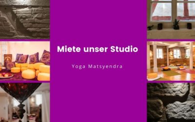 Miete unser Yoga Studio