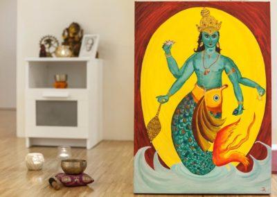 Yoga Studio Matsyendra Bild