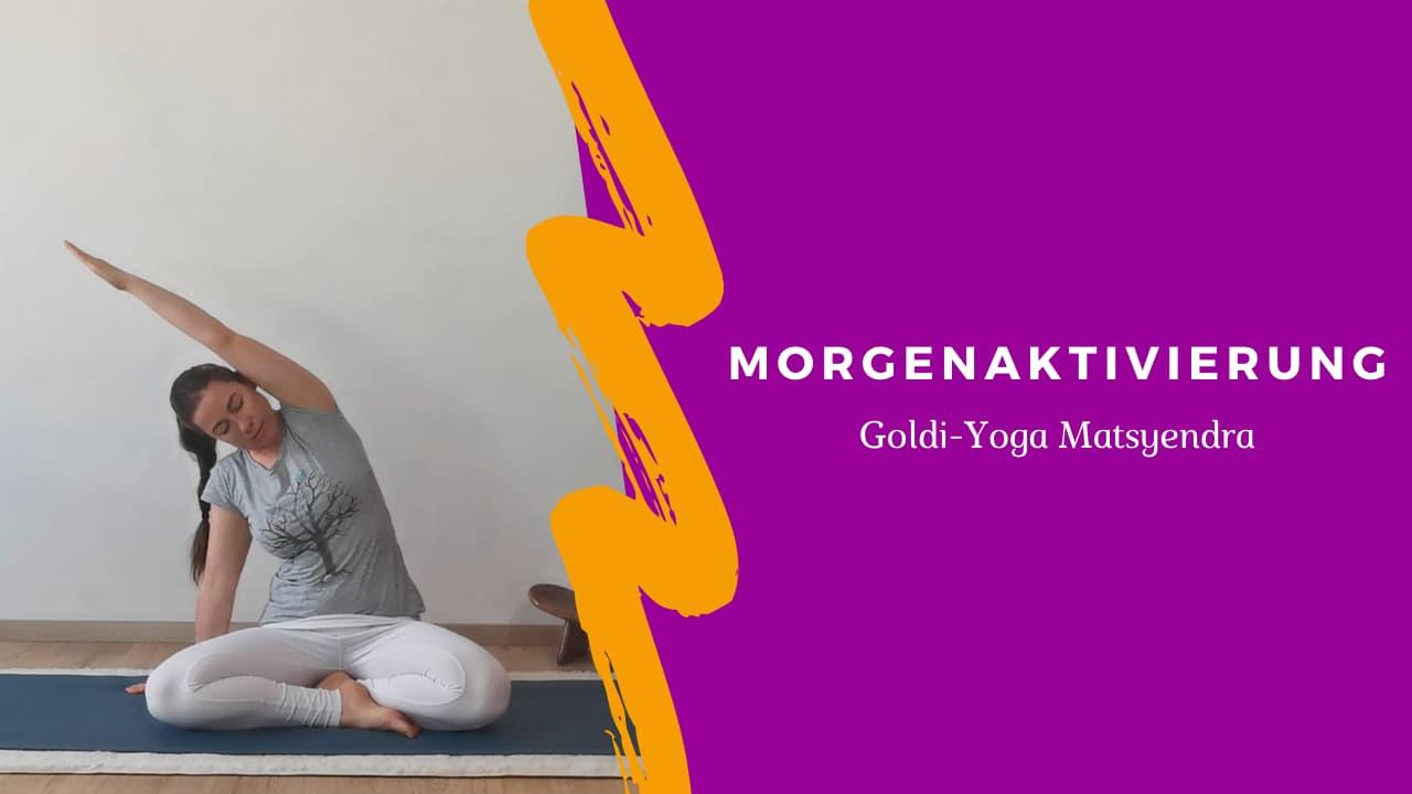 Morgenaktivierung Yogaflow mit Goldi