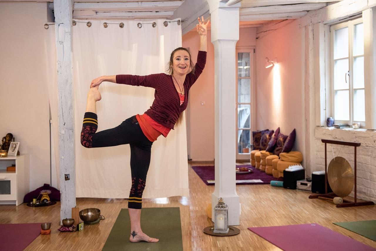 Yoga Lehrerin Daniela Arnold aus Fürth