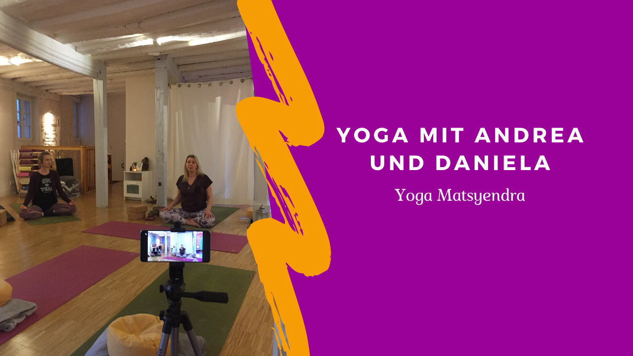 Yoga Matsyendra auf Youtube