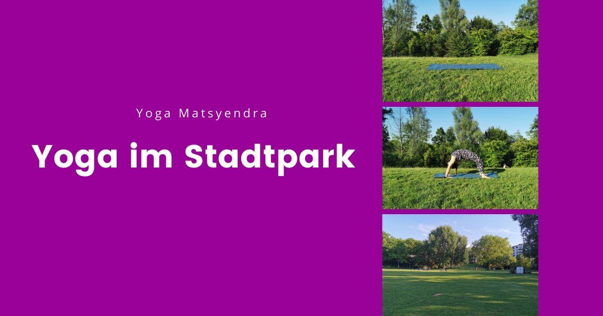 Matsyendra Yoga im Stadtpark Fürth