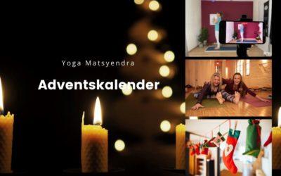 Der Yoga Matsyendra Adventskalender