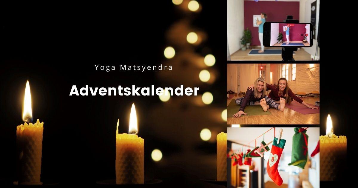 Yoga Matsyendra Adventskalender